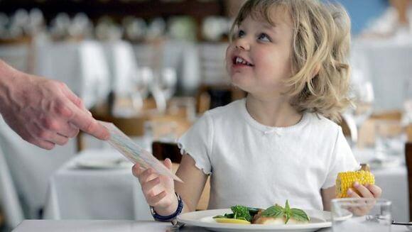 Ресторан, комфортный для детей