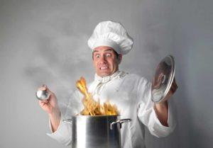 шеф-повар фламбе