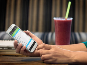 Интернет-маркетинг ресторана - сайт на телефоне