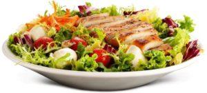 Здорове харчування ресторан — салат