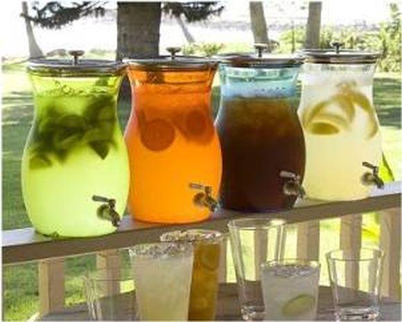 Лучшие коктейли этого лета - лимонады