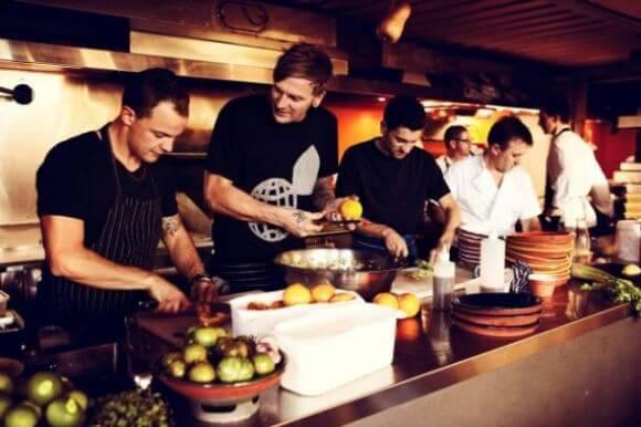 Управление небольшим рестораном - команда