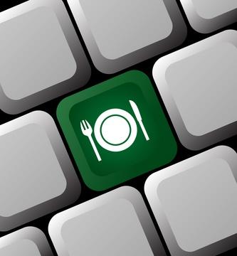 Реклама і просування ресторану клавіатура