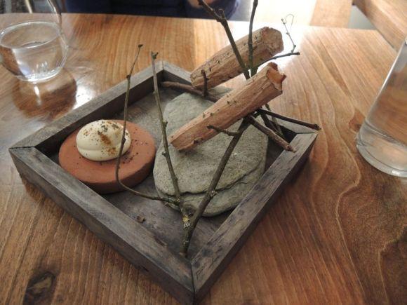Органическая посуда в ресторане
