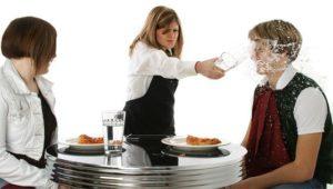Советы для официантов-плохой официант