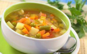 избавиться от похмелья - овощной суп