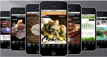 Мобільний додаток ресторану для смартфона