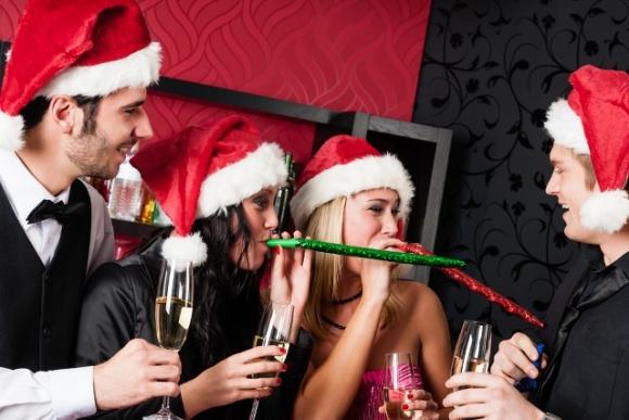 Новогодние праздники в ресторане- клиенты