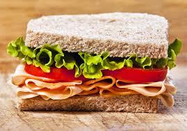 Здорове харчування ресторан — сандвіч