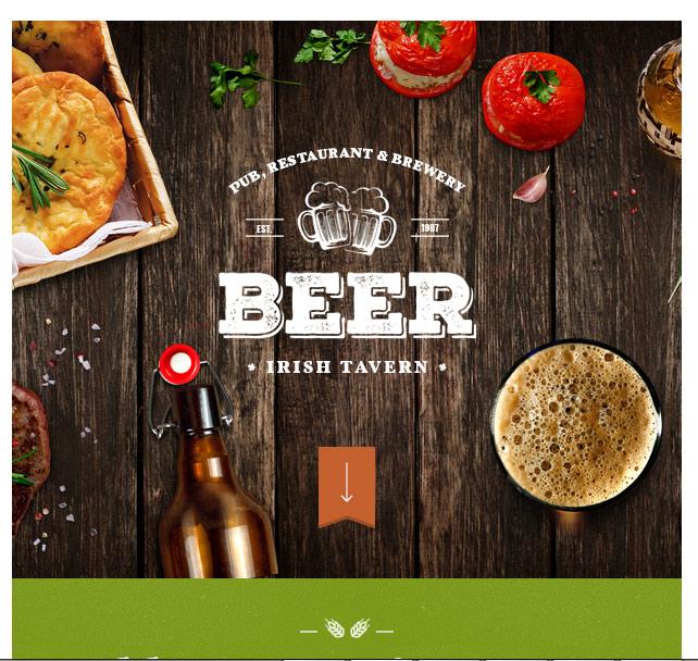 Продвижение вебсайта ресторана в интернете- меню