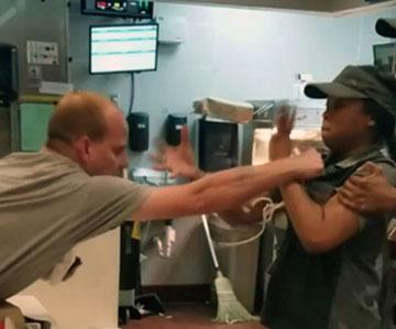 Риск насилия при работе в ресторане